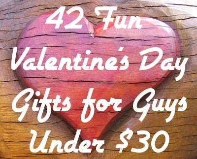 42 Fun Valentine's Day Gifts for Guys Under