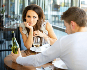 Woman On Date
