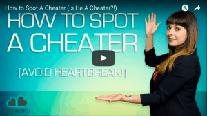 signs of a cheater